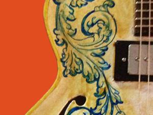 Ceramic guitar – Model 1